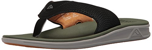 Yellow Flip Reef Rover Men's Flop Green Xa0Aq6