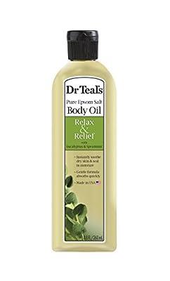 Dr. Teal's Bath Additive Eucalyptus Oil, 8.8 Ounce