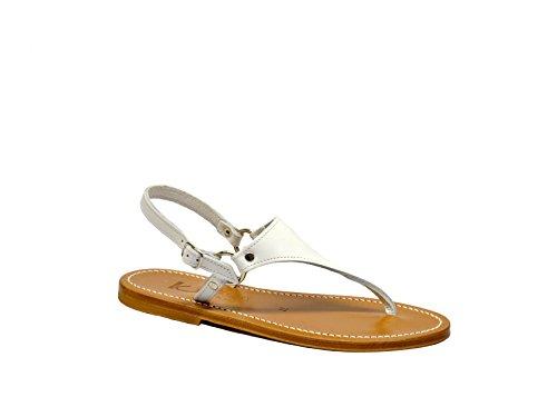 Sandalo K Jacques Bianco Bianco Bianco 34 Donne