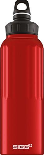 (Sigg 1.5 Liter Wide Mouth Bottle, Traveller Red)