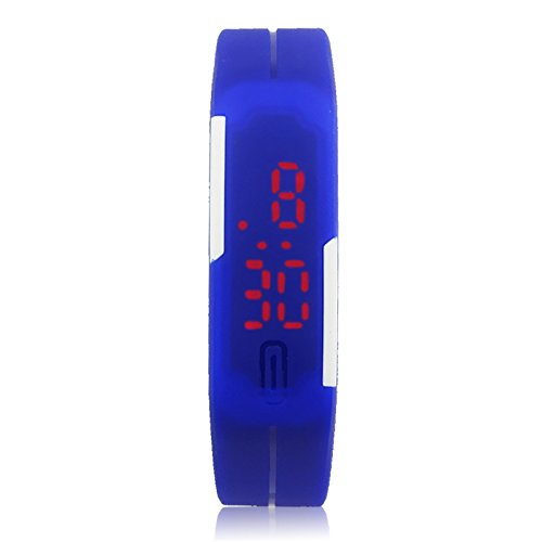 Amazon.com : GRACE MARKET, Top Brand Luxury Mens Silicone Wacthes Girl Digital LED Jelly WristWatch relojes mujer Male sport watch women watches, ...