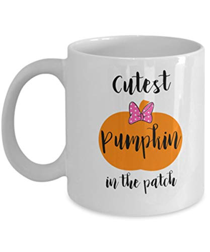 Pumpkin Patch Mug Fall Pregnancy Announcement Idea Halloween Pregnancy Announcement Expecting a Baby -
