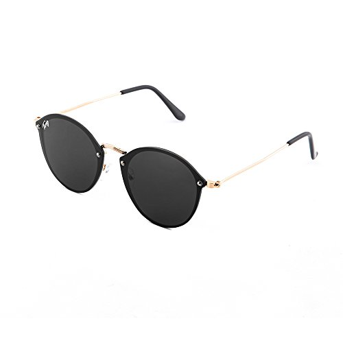 Negro de Gafas degradadas espejo Bronce FRIDA mujer sol TWIG 6Fw7Cx8q