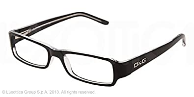 61f5b067de8 Amazon.com  D G DD1146 Eyeglasses-675 Black Crystal-52mm  Shoes
