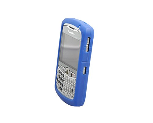 Silicone Cover - BlackBerry Curve 8300, 8310, 8320, and 8330 - Blue