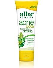 ALBA BOTANICA AcneDote Face and Body Scrub, 227g