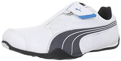 Puma Redon Move Sneaker,White/Dark Shadow/Black,5.5 US/7 D US