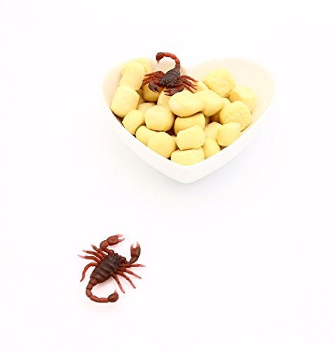 LovesTown 50Pcs Fake Scorpion,1.6\