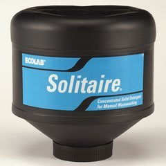 Ecolab 17301 Solitaire Solid, Commercial-Strength Geosystem 9000 Apex Solid Power, (1) Case of 4