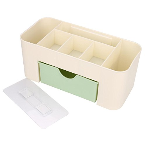 YJYdada Wall-mount Makeup Cosmetic Case Beauty Artist Box Storage Tool Brushes Organizer (C) - Quote Wall Shelf