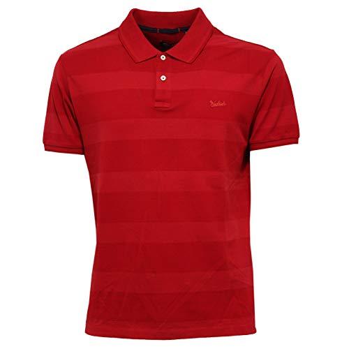 Woolrich Maglia Polo shirt Rot T 3897x Cotton Man Red Uomo BrrHtxwF