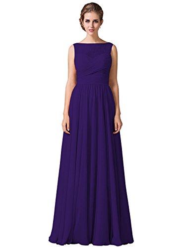 Loffy Womens Bridesmaid Dress Shoulder product image