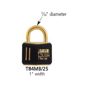 25 Mm Brass Padlock - 6