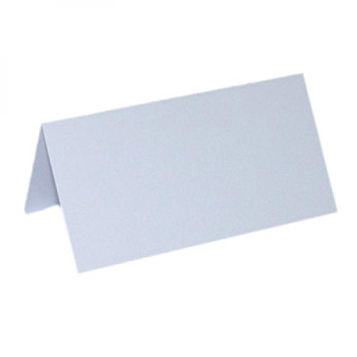 White Place cards Pack of 50
