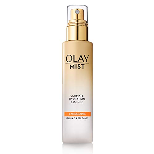 - Face Mist by Olay, Hydrating Facial Spray, Energizing Essence with Vitamin C & Bergamot, 3.3 Fl Oz