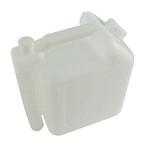 4 l 2 boquillas Garrafa para mezclas de aceite y gasolina ratios de 25:1 o 20:1