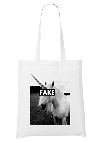 Fake Fake Unicorn Sac Unicorn Sac Blanc qqSfwFnEg