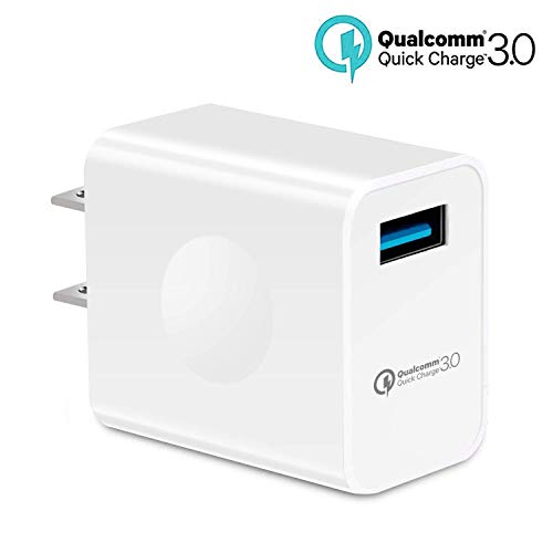 USB Charger,Quick Charge 3.0, Phone Smart Chip Charger for Travel and Office Home use, Compatible with IP iPad Galaxy S8 7 6 Edge Plus Note Any Model