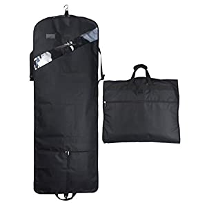 Tri-fold Extra Long Dress Premium Garment Bag – 66 inch