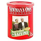 Newman'S Own Raisins Canister 15 Oz (Pack of 12)