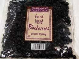Trader Joes Dried Wild Blueberries