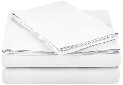 AmazonBasics Microfiber Sheet Set - Twin Extra-Long, Bright