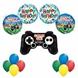Gamers ''Game On!'' Ultimate 13pc Birthday Party Balloon Decoration Kit
