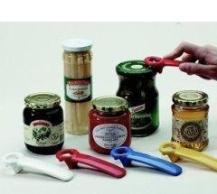 Culinario Jarkey, Schraubverschluß Glasdeckel-Öffner und Glaskonservenöffner