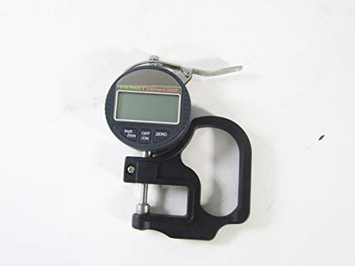 Digital Micrometer Thickness Gauge Range 0-12.7mm Accuracy 0.001mm Paper Film Fabric Tape Thickness Gauge