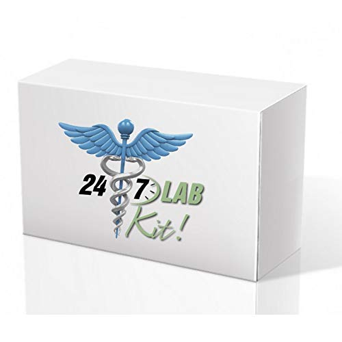 - 247Labs STD Testing Kit for Men & Women, at-Home-Discreet, Fast Lab-Certified Results, Chlamydia & Gonorrhea