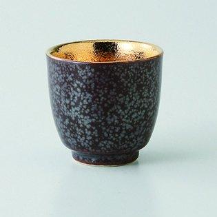 日本磁器波佐見焼。セットof 5 KesshoゴールドSake cups. hsm-j39 – 23042 B075MY63PZ