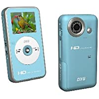 DXG 567V 5.0MP HD Camcorder with 1.7-Inch Hi-Res LCD and 2x Zoom (Black)