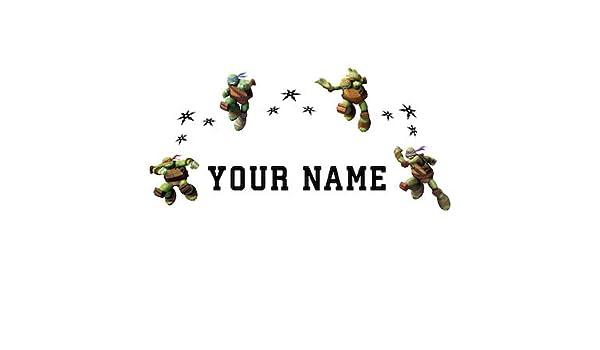 Personalizado Teenage Mutant Ninja turtlestm niños nombre ...