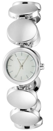 Dkny Womens Silver Dial - DKNY Gansevoort Silver Dial Stainless Steel Ladies Watch NY8866