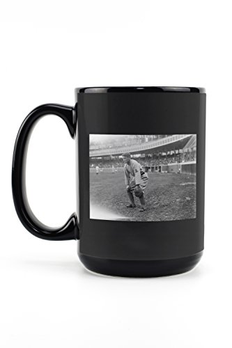 - Jack Bliss, St. Louis Cardinals, Baseball Photo (15oz Black Ceramic Mug - Dishwasher and Microwave Safe)