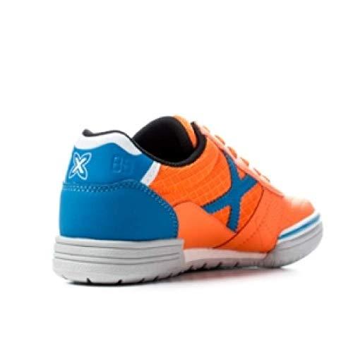 Semelle Bleu nbsp;Orange lisse Football orange Munich enfant G 3 Salle Chaussures y7pqHgcx