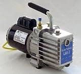 Fischer LAV-3 Laboratory High Vacuum Pump, 2 Stage, 1/3 HP, 110V, 60Hz
