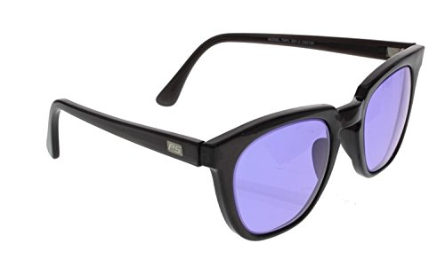 Ace Didymium Glass Working Spectacles in Reinforced Economy Plastic Safety Frame - 50mm Eye Size by ACE Glass