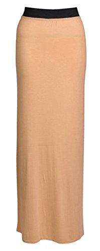 Fashion Valley - Vestido - Estuche - Básico - para mujer color carne