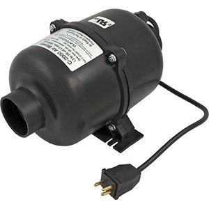 Air Supply 3210120 Ultra 2000 Indoor Blower 1.0 HP 110V with 3' Nema Cord by Air Supply of the Future