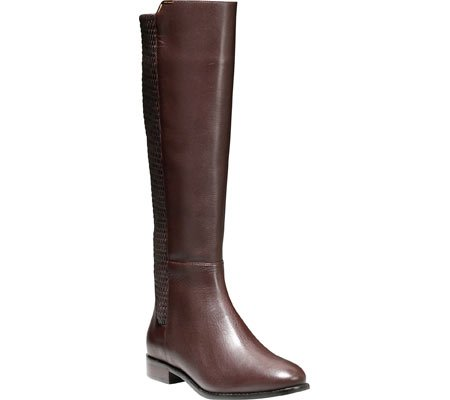 Cole Haan Women's Rockland Riding Boot Chestnut Leahter