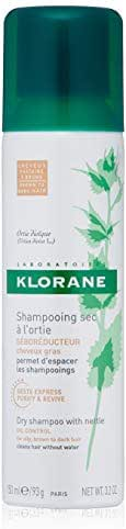 Dry Shampoo: Klorane Dry Shampoo with Nettle Natural Tint