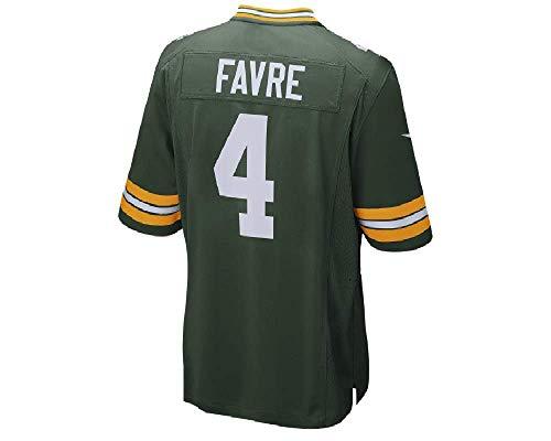 NIKE Brett Favre Geen Bay Packers Men's Throwback Football Jersey XX-Large ()