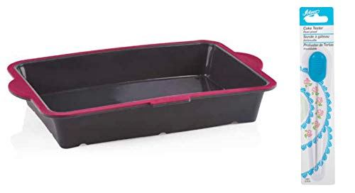 (Trudeau Structure Silicone Pro Oblong Baking Pan, 9