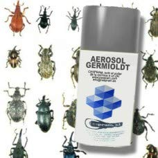 Insecticida de amplio espectro de descarga total .Germiol DT. Aerosol de 335 ml