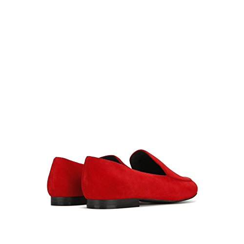 Kenneth Cole New York Womens Westley Slip Loafer Flat Red kpOOHC3