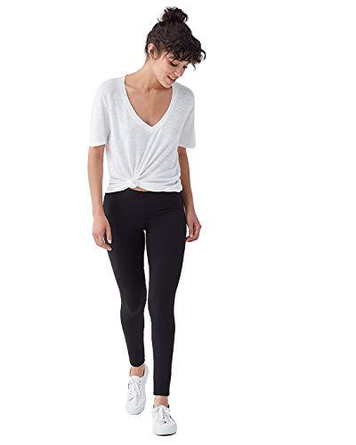 Splendid Women's French Terry Legging Pant - Black - XX-Large