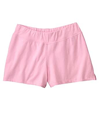 Bella Ladies Cotton Spandex Fitness Shorts. 825 - Small - Pink