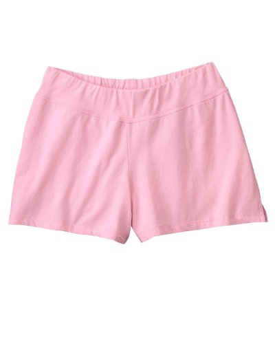 Bella Ladies' Cotton/Spandex Fitness Shorts 825, 2X-Large,