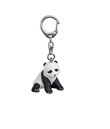 Sitting Panda Bear - Papo Sitting Baby Panda Keychain